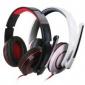 立体声头戴式耳机电脑通话专用游戏语音带唛头带耳机耳麦批发