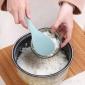 山西晋城电饭煲饭勺子不粘米饭汤勺塑料饭勺电饭锅饭瓢米家用盛饭勺小铲子价格