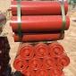 厂家生产陶瓷托辊槽型缓冲加厚耐磨托辊平行下托辊三联皮带机托辊输送带槽型托辊