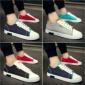夏季双色学生帆布鞋韩版潮流鸳鸯拼色青少年休闲板鞋百搭男鞋低帮