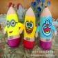 河北保定厂家直销抓机娃娃新款创意铅笔水晶超柔小货混批毛绒玩具量大更优价格